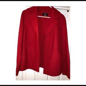 Red Drape Jacket